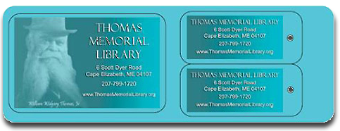 Thomas Memorial Library Card