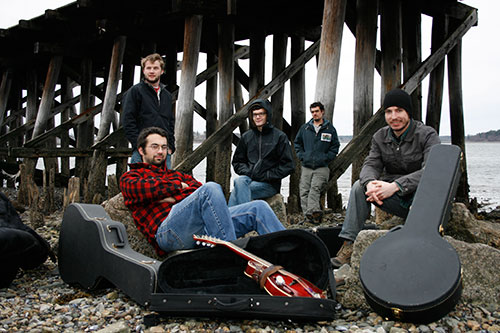 Tricky Britches bluegrass band