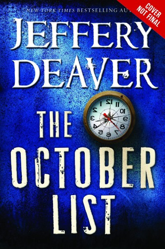 Deaver, Jeffrey. The October List