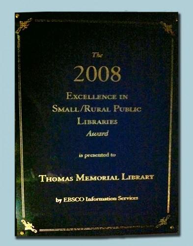 Ebsco Award