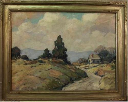 John Allen painting