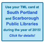 Use Your Card and South Portland and Scarborough libraries