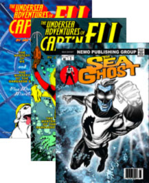 Comics by Jay Piscopo