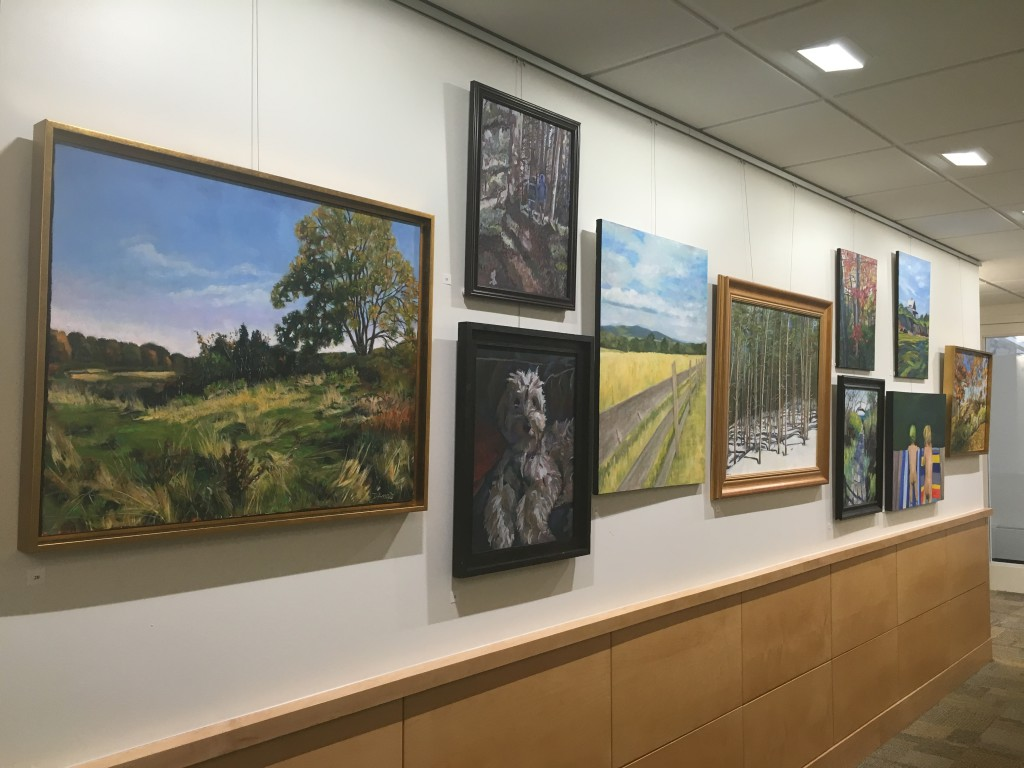 Paintings of Maine in the Stier Family Gallery