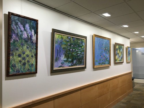 paintings by Randy Griffin in the Stier Family Gallery