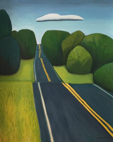 Road to Camp, by Gail Pfeifle