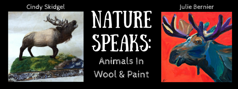 Nature Speaks: Animals in Wool and Paint