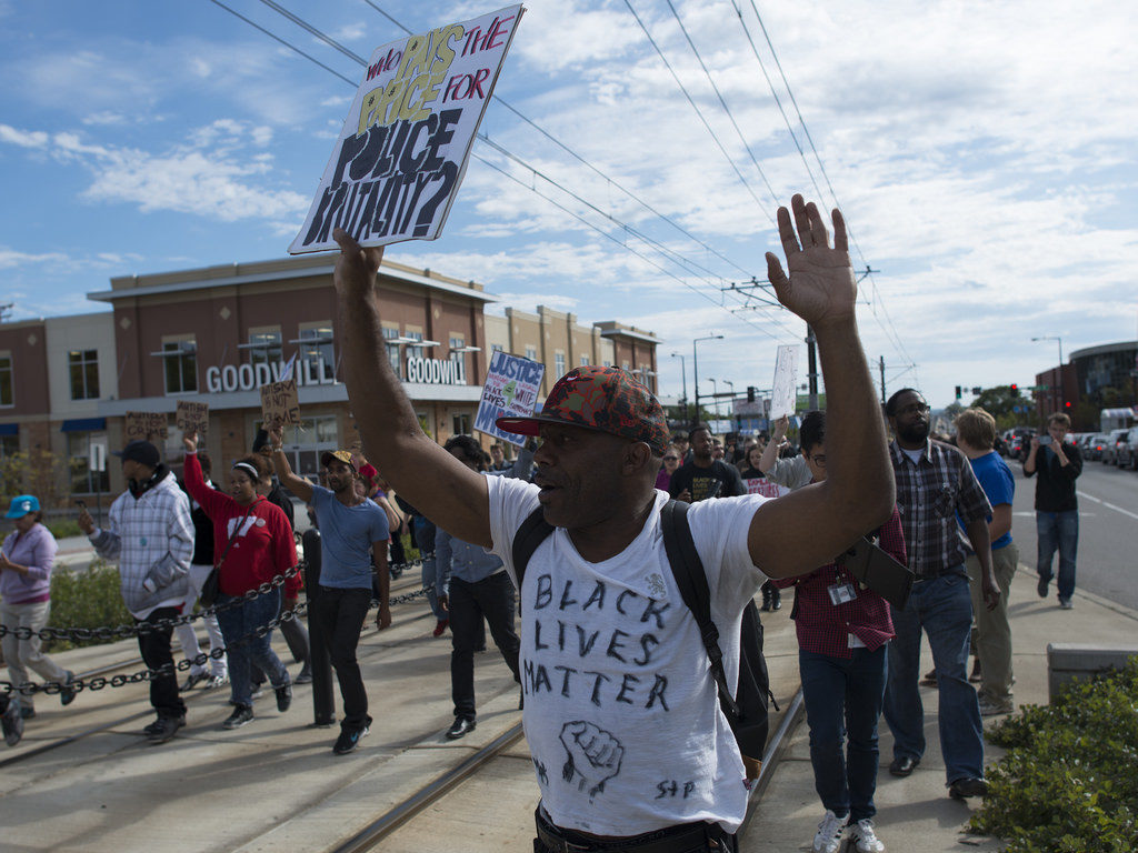 Black Lives Matter protest against St. Paul police brutality | by Fibonacci Blue