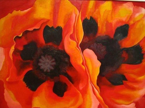 Oriental Poppies, by Georgia O'Keefe