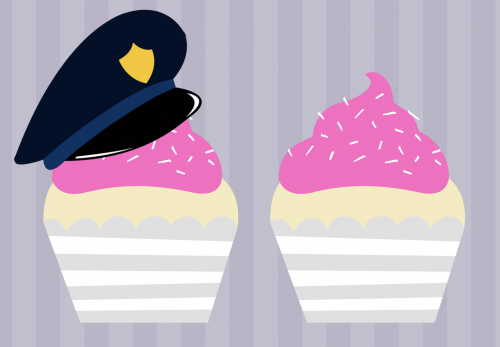 Cupcake with a Cop