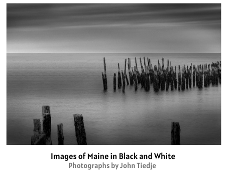 Images of Maine in Black and White